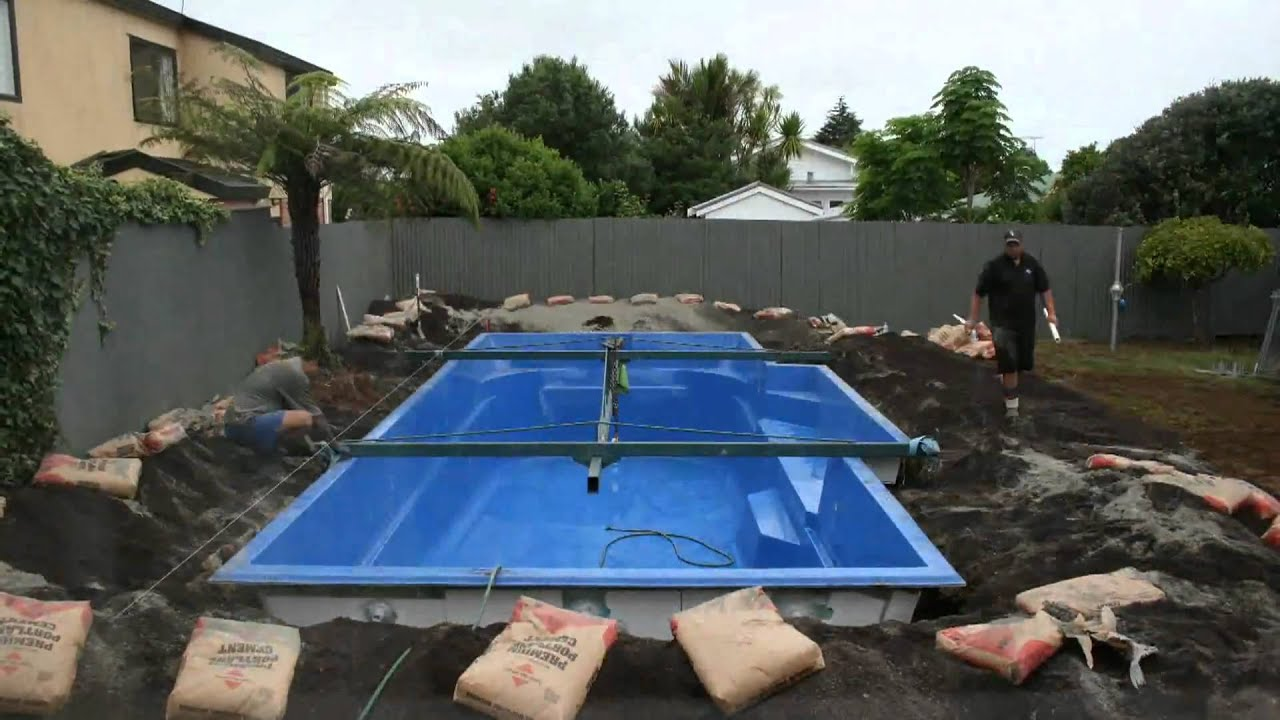 Fibreglass pools auckland discounted prices on now youtube for Fibreglass swimming pool prices