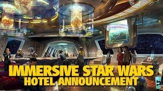 NEW Star Wars Luxury Hotel Experience at Walt Disney World | D23 Expo 2017