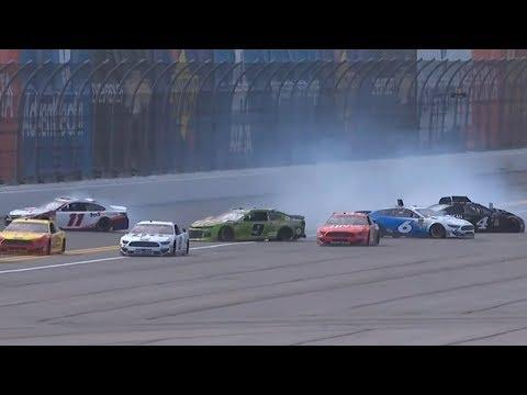 Nascar - Daytona - 2019 - Practice Crash