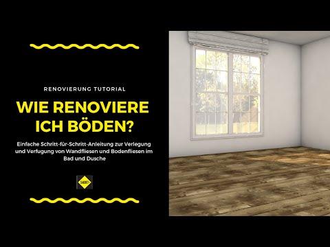 Boden Und Bodenflächen überarbeiten - SAKRET Heimwerker TV