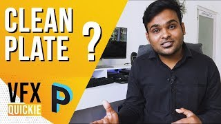 What is Clean Plate / Rig Removal ?- VFX QUICKIE [HINDI]
