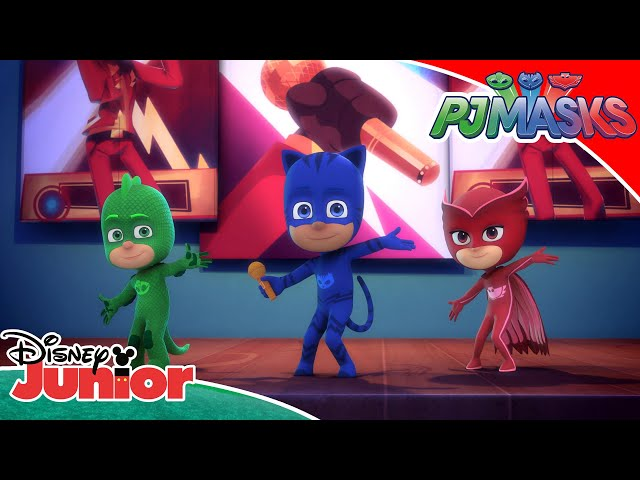 Ultragalaktiske sange! ☄️   Pyjamasheltene   Disney Junior Danmark