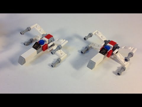 LEGO Star Wars 7958 X-Wing Fighter Review and Comparison - YouTube