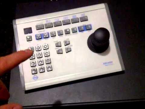 controlling a pelco esprit ptz camera with pelco kbd300a joystick keyboard youtube. Black Bedroom Furniture Sets. Home Design Ideas