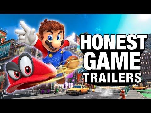 SUPER MARIO ODYSSEY (Honest Game Trailers)