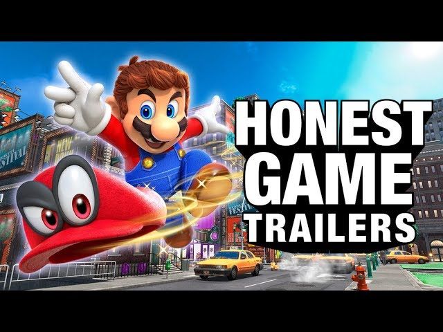 SUPER MARIO ODYSSEY (Honest Game Trailers)
