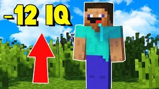 HOW TO FIND YOUR IQ IN MINECRAFT (Jordan