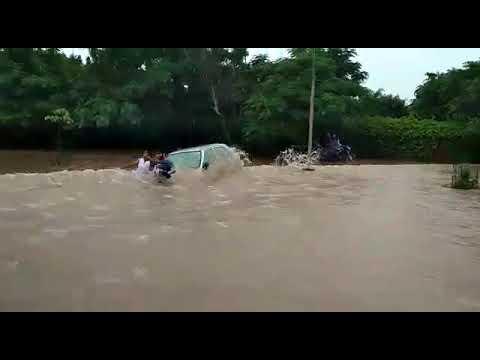 Chandigarh. Mohail new road raining view 21/08/2017 Mp3