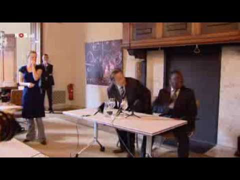 Morgan Tsvangirai gets red carpet treatment in Netherlands