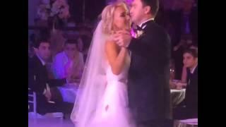 Свадьба Елены Весниной. Танец молодых.