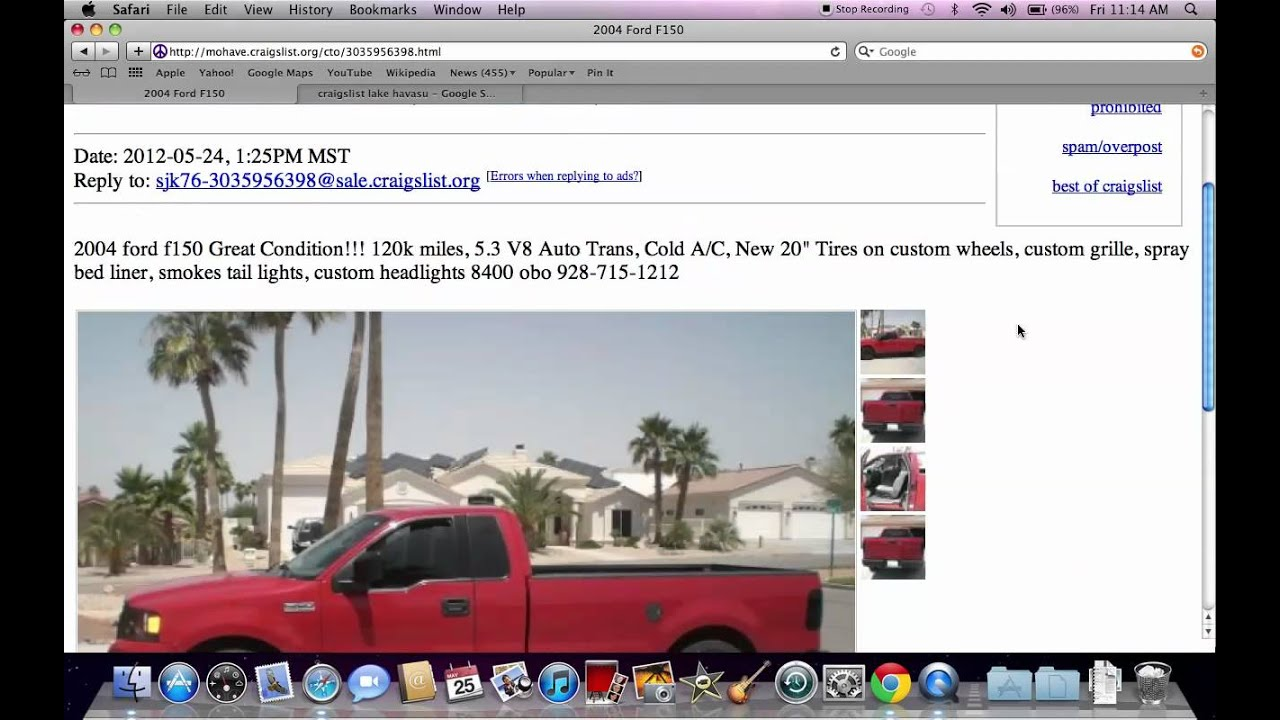 Craigslist Lake Havasu City Az Cars