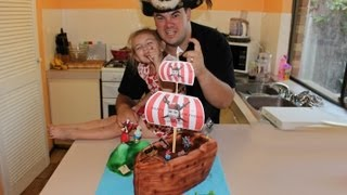 Pirate Ship Cake (how To)