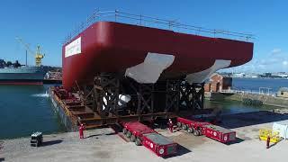 Cammell Laird new build polar ship reaches construction milestone