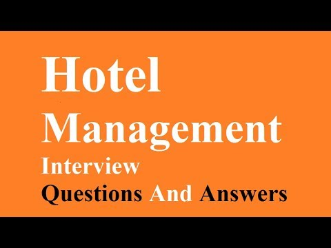 Hotel Management Interview Questions And Answers - YouTube