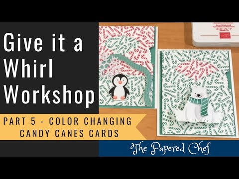 Download Give it a Whirl Workshop - Part 5 - Color Changing Cards - Give it a Whirl Dies - Candy Canes Stamp