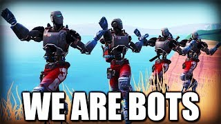 We are ABSOLUTE BOTS (Fortnite funny squad moments)