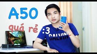 Samsung Galaxy A50 giá chỉ còn 5,7 triệu - Vô đối rồi còn gì nữa???