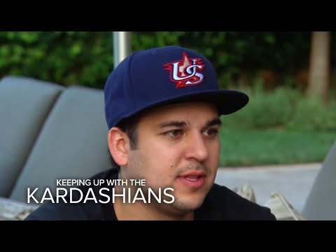 KUWTK | Rob Kardashian Talks Weight Gain | E!