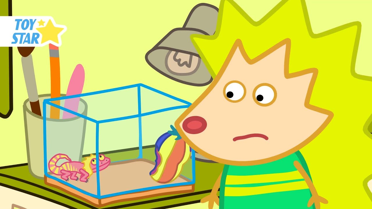 Hedgehog Family And Friends  Funny episode for kids #164