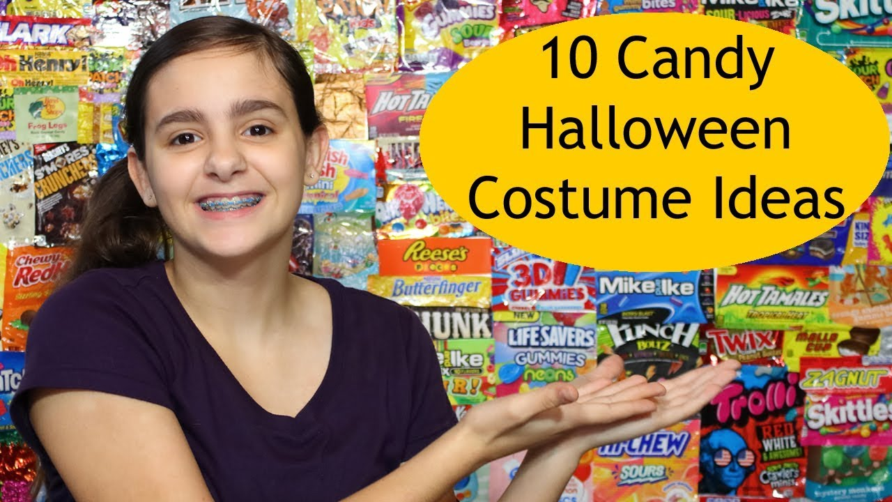 Candy Halloween Costume Ideas.10 Candy Halloween Costume Ideas Youtube