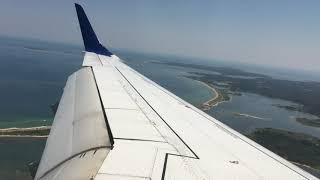 JetBlue E-190 HARD AND FAST Landing in Martha's Vineyard