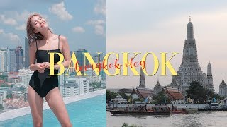 BANGKOK TRAVEL VLOG: First Time in Thailand 🇹🇭