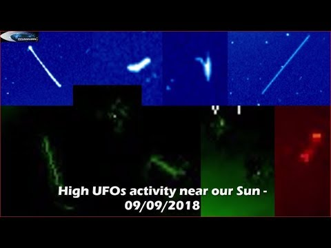 nouvel ordre mondial | High UFO activity near our Sun - 09/09/2018
