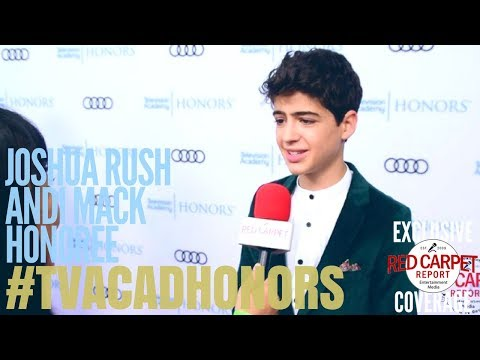 Joshua Rush, #AndiMack interviewed at the 11th Annual Television Academy Honors #TVAcadHonors