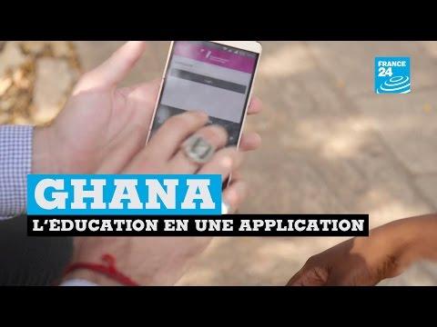 Ghana : l'éducation dans une application