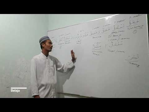 Mengenal susunan bahasa arab bersama ustadz Suciyanto minggu ke 4 bag ke 2