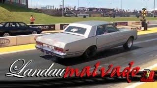 Ford Landau 1977 Drag Racing