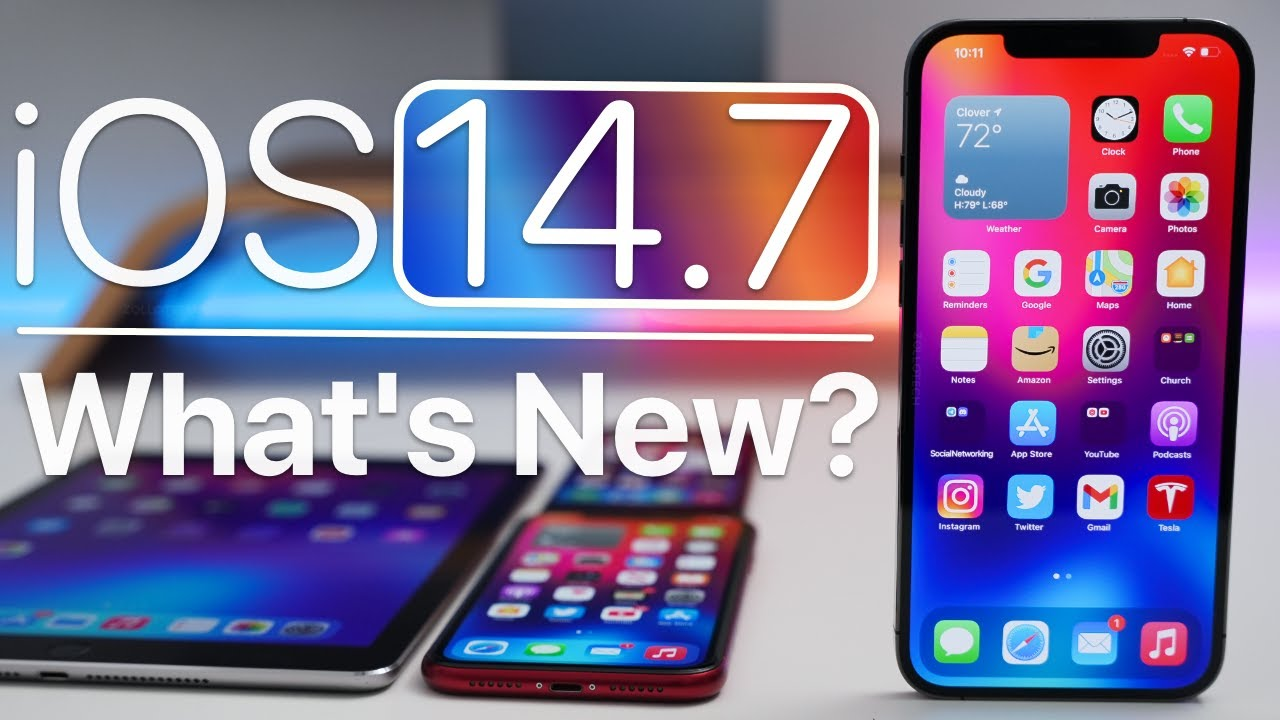 Download iOS 14.7 is Out! - What's New?