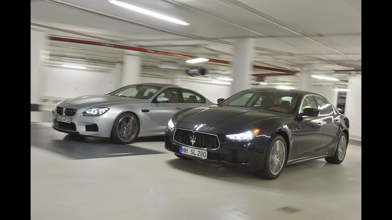 Maserati Ghibli Vs Bmw M6 Gran Coup 233 Youtube