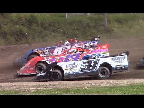 Topless RUSH Crate Late Model Heat Three | Genesee Speedway | 9-17-17