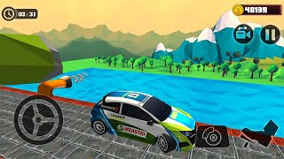 Impossible Climb Stunt Driving | Tricky Car Tracks - Android Gameplay FHD