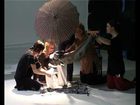 ningyo-joruri workshop with Nori Sawa