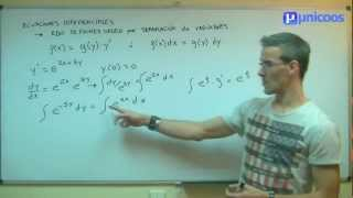 EDO 01bis Ecuacion Diferencial de primer orden UNIVERSIDAD unicoos