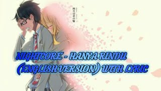 ★NightCore★Hanya Rindu (English Version) With Lyric