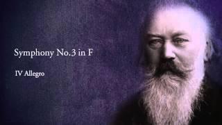 Brahms Academic Festival Overture, Symphony No.3 & Symphony No.4