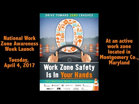 National Work Zone Awareness Week Event Puts Safety in Your Hands