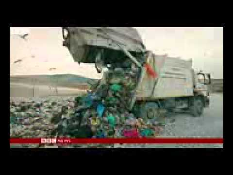 BBC News - Greece's illegal rubbish dump dilemma
