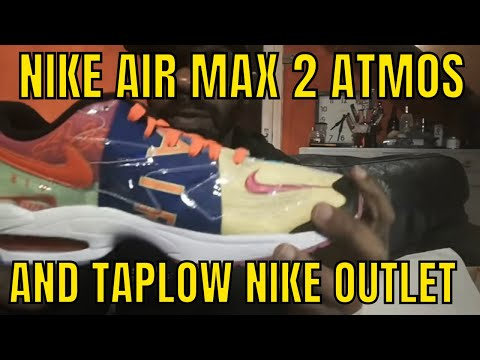 b9ae535686 sneaker shopping therapy part 36 Nike Air Max 2 Atmos and Taplow ...