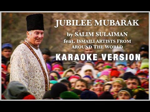 Jubilee Mubarak (Karaoke Version) | 'Diamond Jubilee' Official Song | Salim Sulaiman