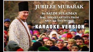 Jubilee Mubarak (Karaoke Version)   'Diamond Jubilee' Official Song   Salim Sulaiman