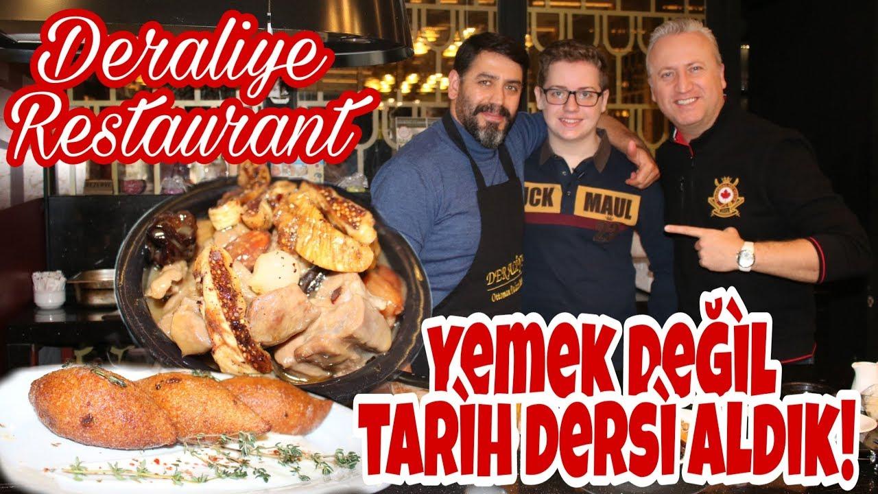 Necati Şeften Yemek ve Tarih Dersi Aldık - Deraliye Restaurant -Sultanahmet