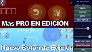 Novo botão Editar com reinicialização no Fortnite Mobile