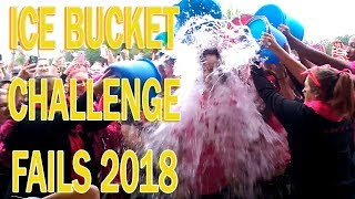 ABSOLUTE FAIL  - ICE BUCKET CHALLENGE COMPILATION 2018