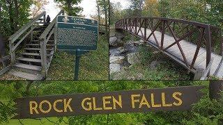 Adventure Series – GeoCaching – Ausable Gorge – Rock Glen Falls