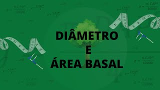 Diâmetro e área basal