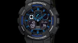 Налаштування годинника Casio G-shock GA-100 [5081]